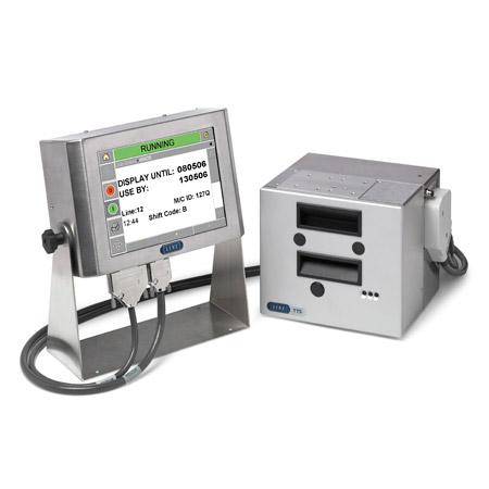 Para codificar sobre embalaje de película flexible, etiquetas o tarjetas satinadas,la serie TT de Linx de impresoras de