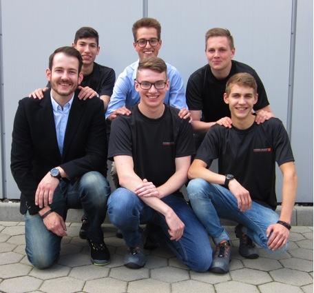 RÄDER-VOGEL begrüßt sechs neue Auszubildende