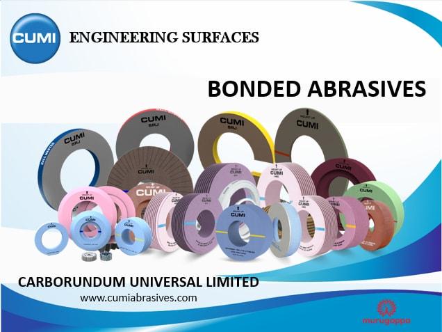 Complete range of Bonded Abrasives
