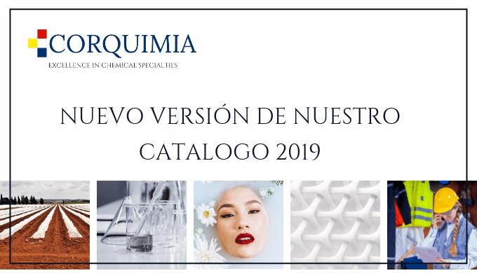 Nos complace presentar la versión 2019 de nuestro catálogo de productos