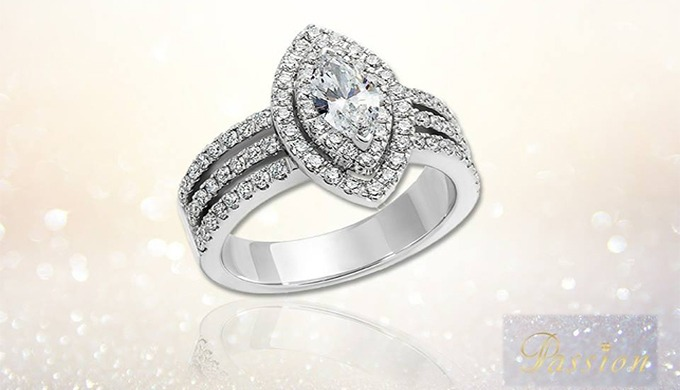 Exprimez votre amour avec une bague d'exception, parce que votre passion est comme nos diamants: rares et respectant les