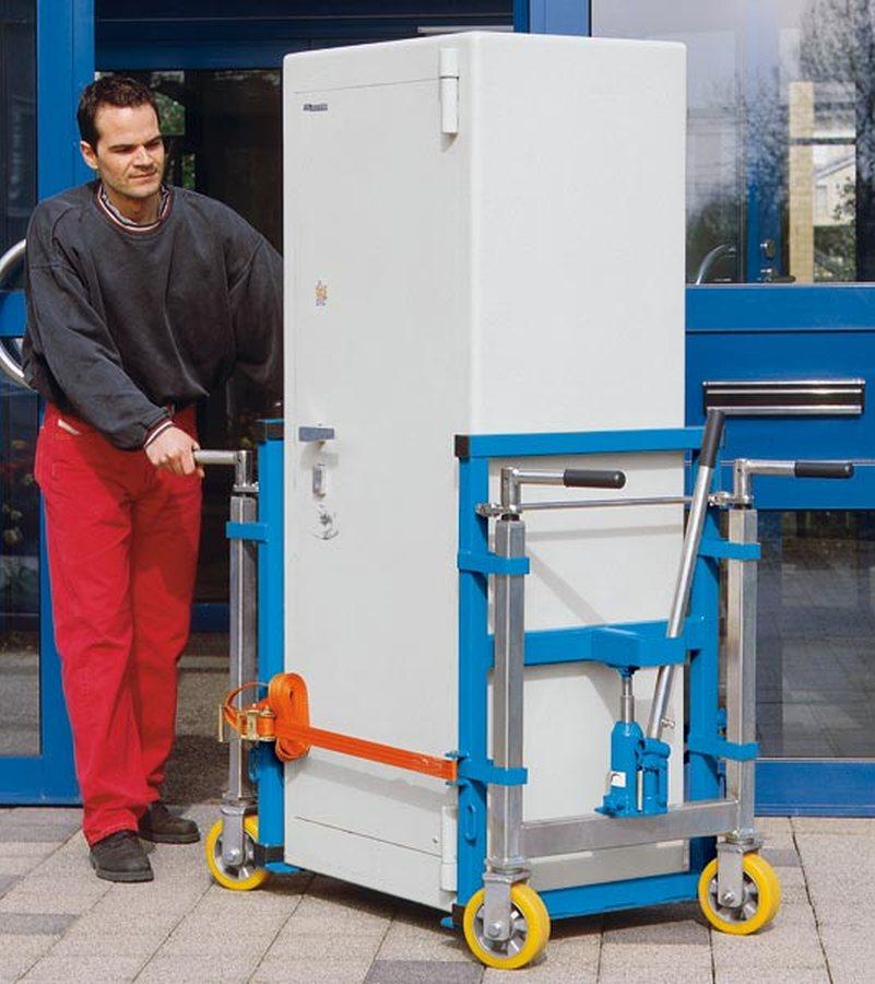 Für schnelles und sicheres Verfahren sperriger und schwerer Güter. Beim Umzug, Instandhalten oder Einrichten. Lieferumfa
