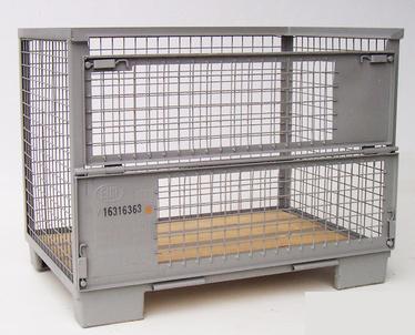 Von der poolbaren Tauschbox bis zur Sonderlösung Die DB-Europoolgitterbox (nach DIN 15155/8 und UIC 435-3) ist tauschbar