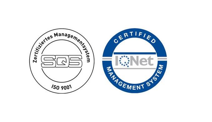 Wir freuen uns über die Zertifizierung nach ISO 9001:2015
