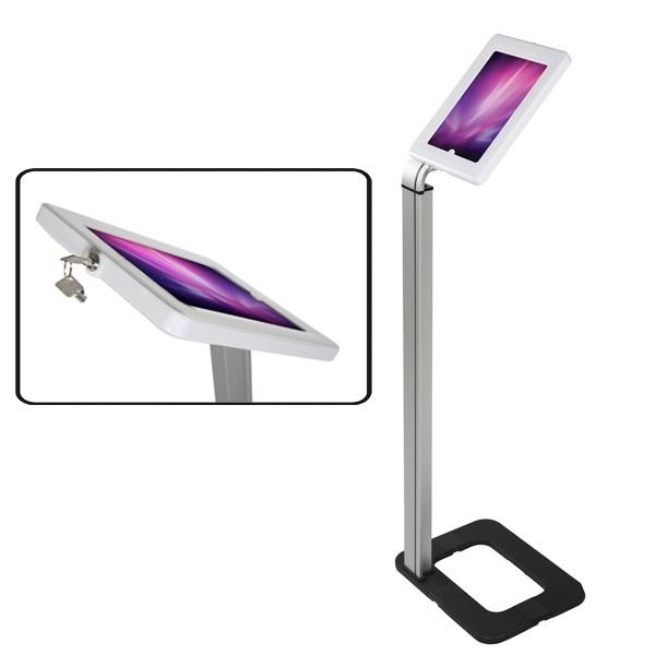 Compatible pour toutes tablettes de dimensions maximum 250 x 185 x 10 mm La visibilité de l'écran étant de 220 x 160 mm