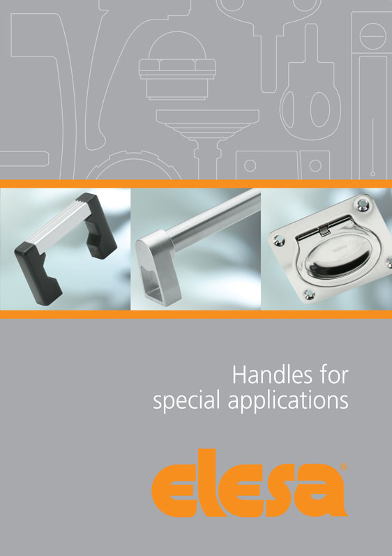 New Elesa catalogue brings together industrial handles for special applications