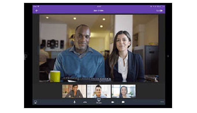 HD Audio and Video Conferencing Meet face to face anyplace Today's work environment is marked by constant change and lot
