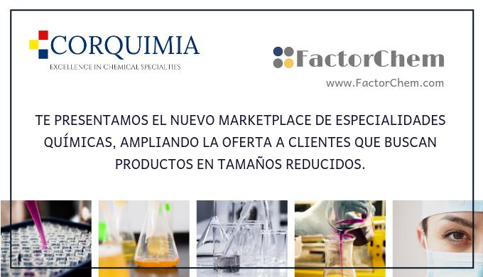 Nuevo Marketplace para pequeñas y medianas cantidades de especialidades químicas