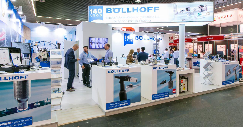 Bollhoff s.a. agradece su visita y su interés en nuestras remachadoras y elementos de fijación expuestos en nuestro Stand en la Feria Subcontratación 2017