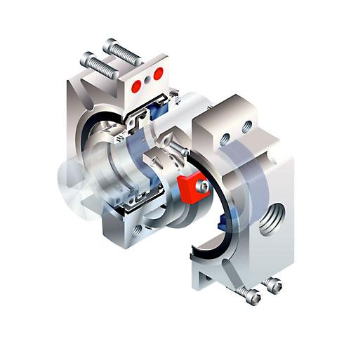 Vår senaste generation av delad tätning för pumpar och omrörare heter PSS III.