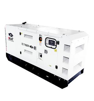 GROUPE ÉLECTROGÈNE DIESEL GELEC 83 kVA : Cette gamme TIGER est équipée d'un«automatic switch» (inverseur de sources)