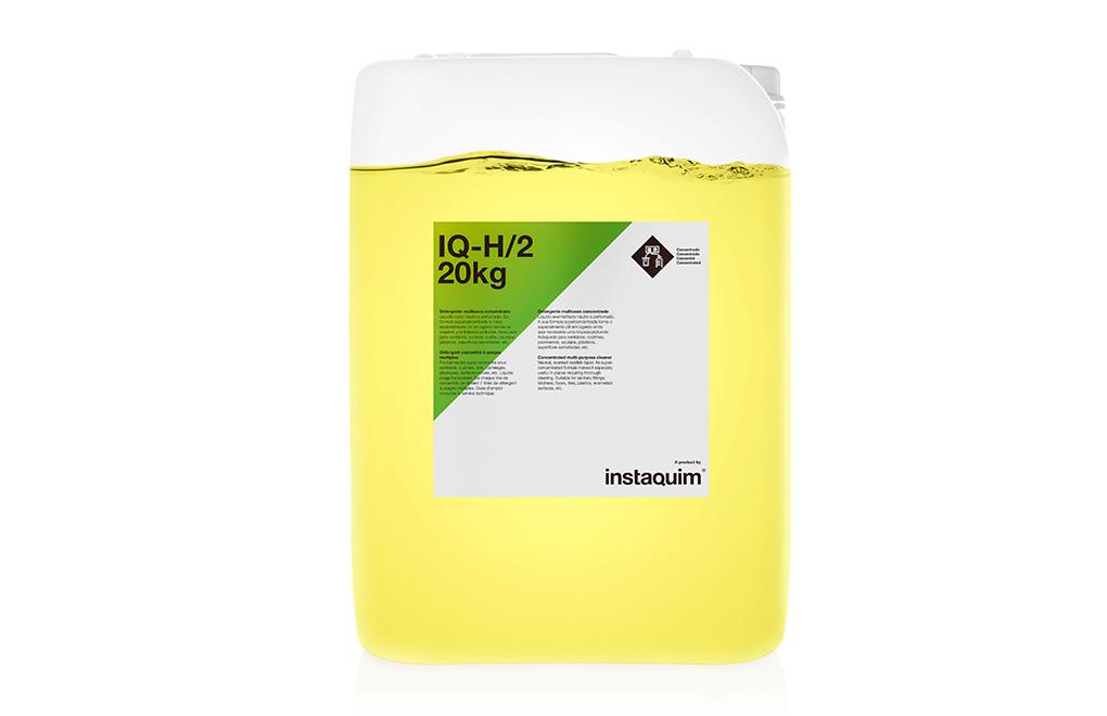 IQ-H/2, detergente multiusos concentrado.