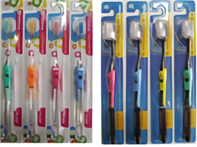 KB  Dual-level toothbrush