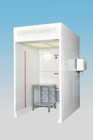 Downflow Booths  Protect Food Operatives from Airborne Dusts