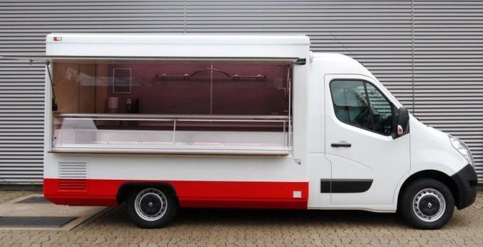 Pojízdná prodejna masné výrobky 3300E Tour