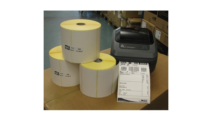 Vi hjælper dig med både Zebra-printerne og labels til din fragtmærkning. NPT har Sikre løsninger til dine fragtlabels og