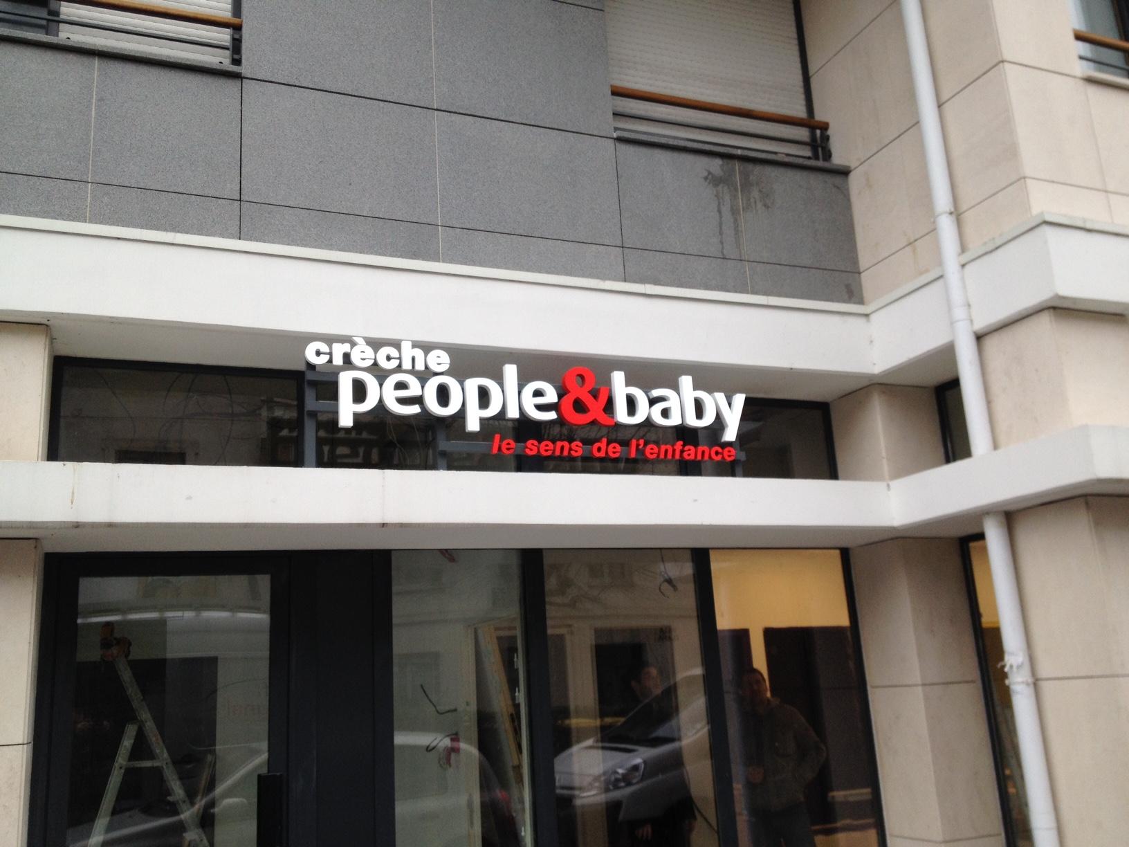 Actif Signal partenaire enseigniste des crèches People & baby