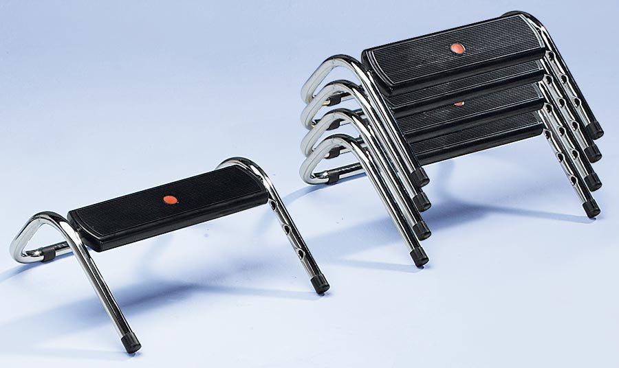 Fußstütze mit höhenverstellbarer Fußplatte