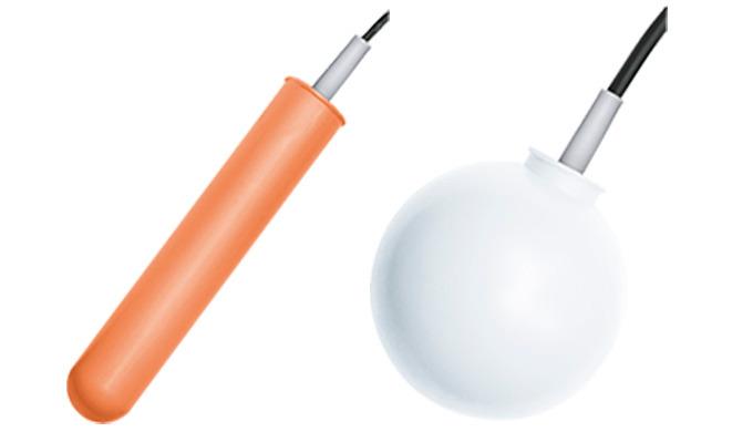 Kontakt: 1 Mikroschalter Anschluss: Stopfbuchse G1, G2 Material: Polypropylen pmax: 2 bar tmax: 85°C