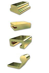 http://www.filtoprofiles.com/product---market.html Perfiles de latón, pletinas, angulares, tees, ues media caña, perfile