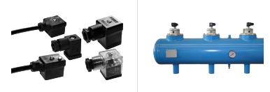 Kabelkontakter / Utrustning för stoftfilterrensning