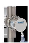 Das TurbiGuard dient zur Messung mittlerer bis hoher Trübung. Ein einziges Gerät mit zwei Messbereichen deckt die entspr
