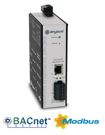 Anybus BACnet to Modbus Gateway
