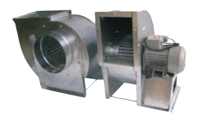 SINGLE INLET GALVANIZED WITH SCIROCO IMPELLER Features: Single inlet fans. Low - medium pressure. Top quality. Suitable