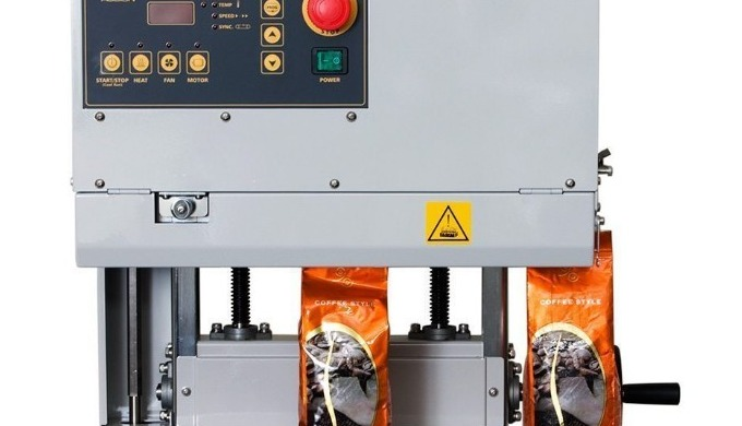 The Audion D555 NVT is a table top vertical band sealer. Its perfect for sealing pouches and bags whilst upright. Often