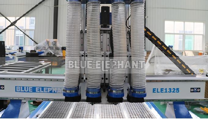 Фрезерный станок с ЧПУ ELECNC-1325 с 4 шпинделями