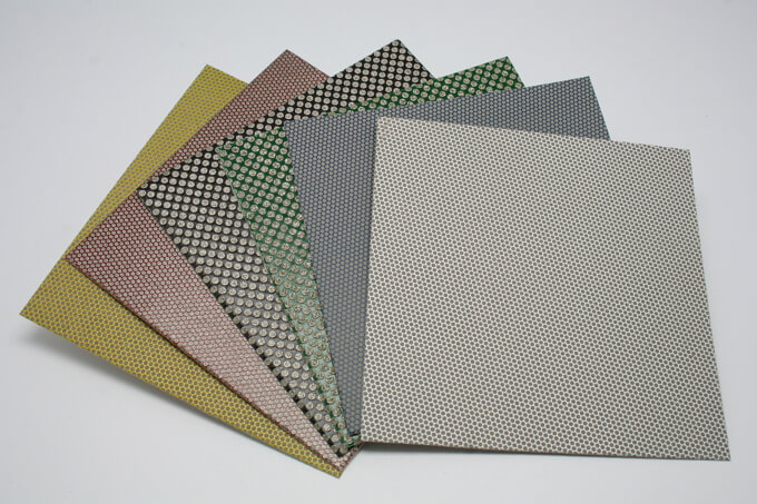 Diamond electroplated polishing sheet(super flexible)