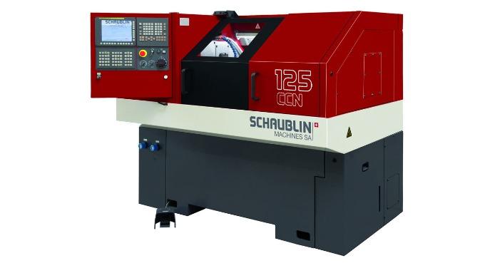 Erweiterung Maschinenpark mit Schaublin 125-CCN