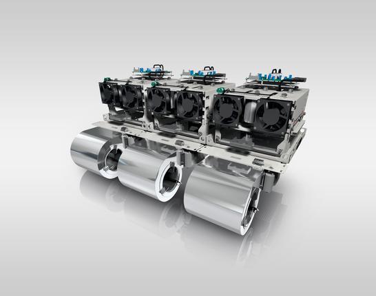SEMIKUBE® IGBT Inverter Leistungsdichte 5,7 kVA/l