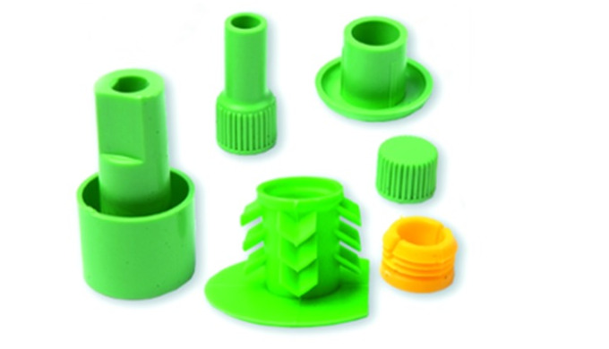 injection molded parts and moldings from thermoplastics