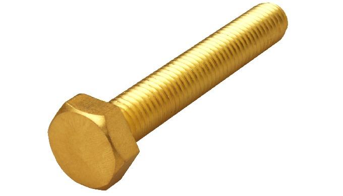Brass Hex Bolt DIN 933