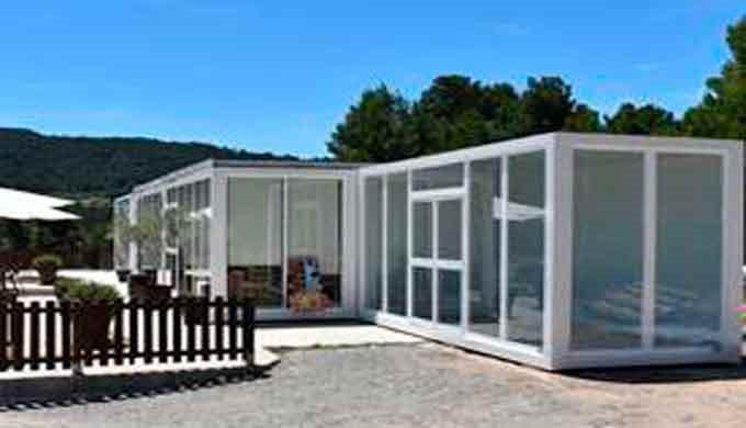 Construcciones Expertos en construcción modular prefabricada&#x3b; Bar y Restaurante prefabricados Nuestras construcciones mo