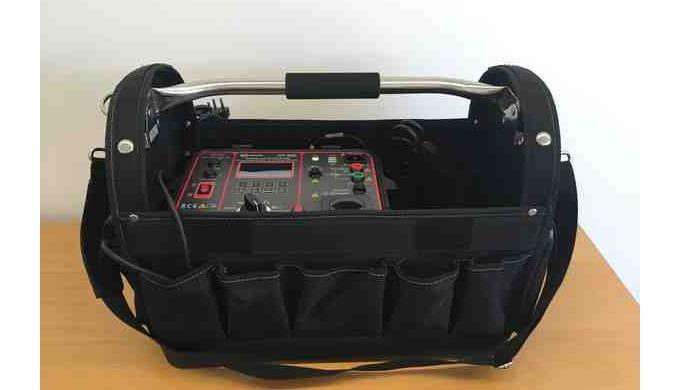 Gerätetester ToGo-Kit mit GT900 für obligatorische Prüfung nach VDE 0701-0702 bzw. SNR 462638