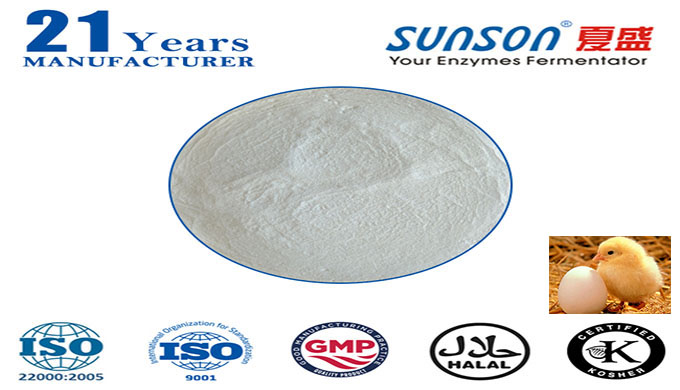Introduction: Nutrizyme® Sunson-I is a complex enzyme based on animal feed ingredients and the characteristics of digest