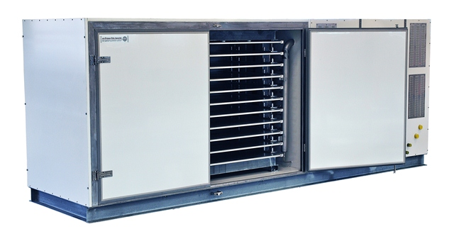 DSI - Plate freezer with compressor