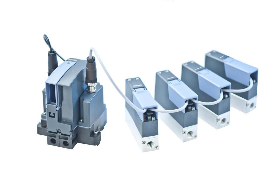 Bürkert Presenta el nuevo MFM/MFC (medidor de caudal/controlador de caudal) tipo 8741 para gases en procesos industriales.