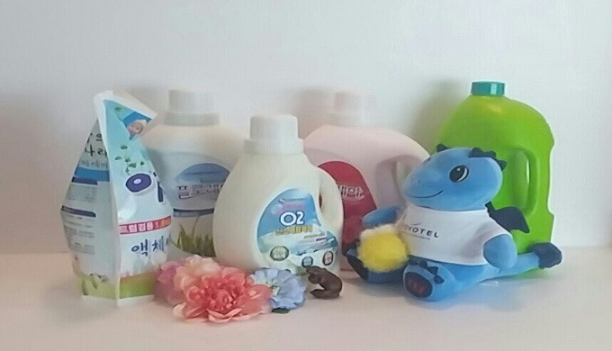 A detergents that saves people and nature by developing not only food products but also food products as a healthy deter