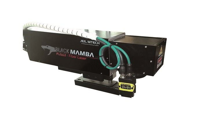 """BLACK MAMBA"" of Jeil Mtech Co.,Ltd is the Fiber laser marking machine which is using a new concept laser technology ""Fi"