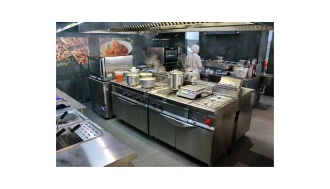 Машины и оборудование для приготовления пищи для сети общественного питания