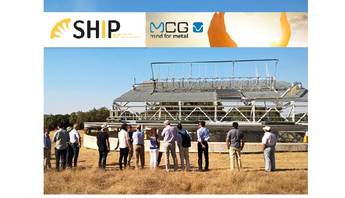 MCG develops industrial solar thermal system under the SHIP R&D project