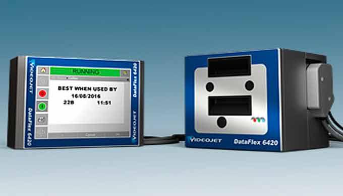 IMPRESORA POR TRANSFERENCIA TÉRMICA (Alta velocidad): Videojet DataFlex 6420