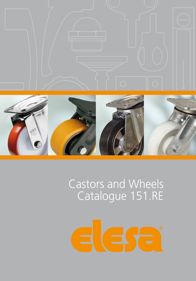 New industrial castors and wheels catalogue from Elesa UK