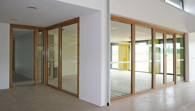 Bloc porte vitr par etablissements montibert for Cloison vitree prix