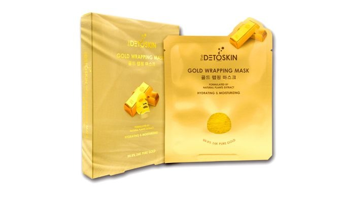 Allows effective substances to be fully absorbed into skin, by using essence containing pure gold and sheet mask with mi