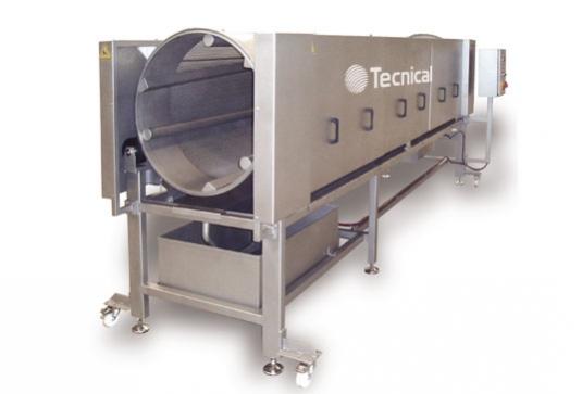 Sistema para la recuperación de salmuera en la carne fresca inyectada. Mediante el bombo de escurrido saltec conseguimos