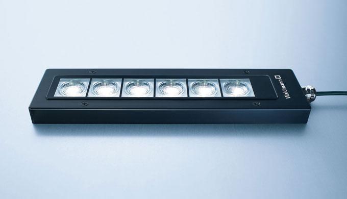 FLAT LED ist eine überzeugend flache Lösung – für Fälle, in denen der Einbau einer Leuchte in die Maschinenwand nicht mö